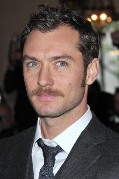 Jude Law moustache