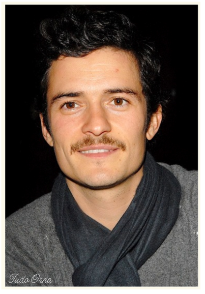 Orlando Bloom moustache