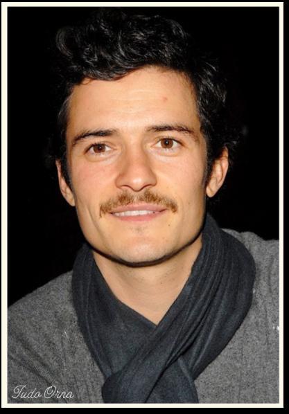 Orlando Bloom moustache