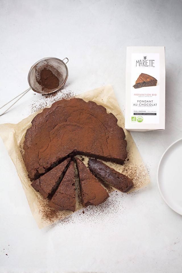 fondant au chocolat marlette