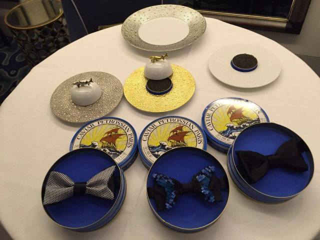 noeud papillon caviar petrossian