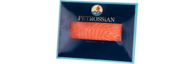 saumon fumé petrossian