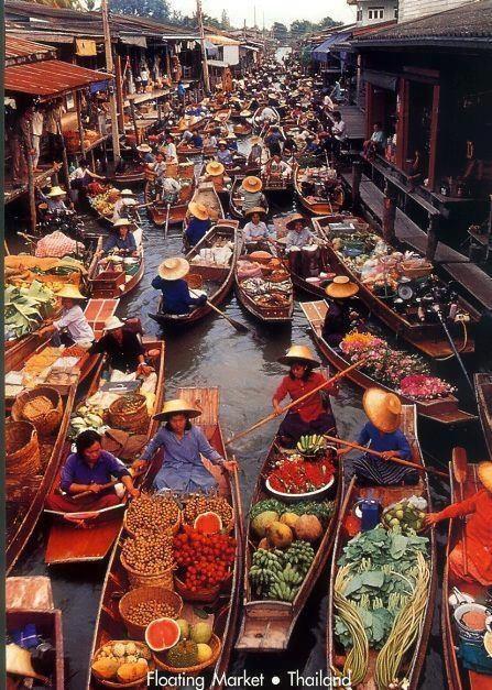 être en voyage thailande