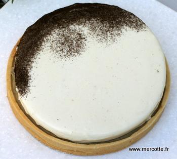 tarte infiniment vanille par Mercotte