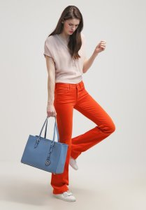 Jean orange Seven for all mankind