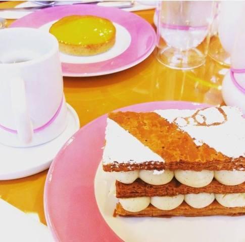 Millefeuille Pâtisserie des Rëves