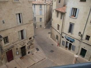 Hauteur Place de la Canourgue