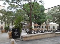 Terrasse Place de la Canourgue