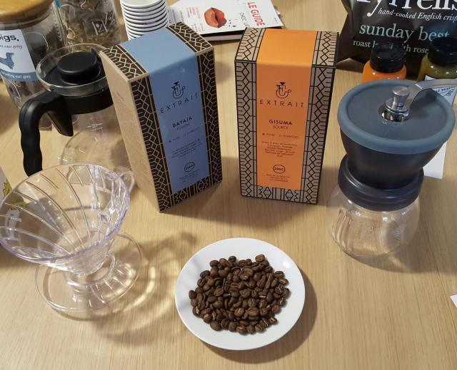 Extrait café