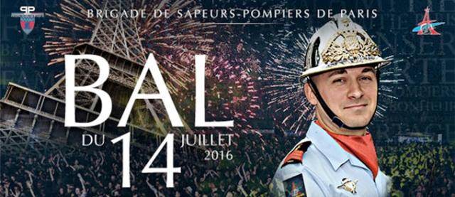 Bal des pompiers de Paris 2016