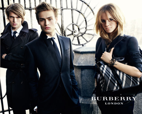 Douglas Booth Burberry