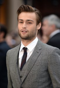March 31, 2014 Noah Premiere - London. Douglas Booth arriving at the UK Premiere of Noah, Odeon Cinema, Leicester Square, London. URN:19441961