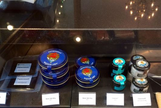 Maviar et caviarcream