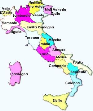 Régions italiennes
