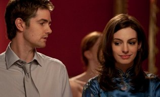 Anne Hathaway and Jim Sturgess star in the romantic film 'One Day.' Pictured: Anne Hathaway and Jim Sturgess Ref: SPL293143 090711 Picture by: Focus Features/Splash News Splash News and Pictures Los Angeles: 310-821-2666 New York: 212-619-2666 London: 870-934-2666 photodesk@splashnews.com Splash News and Picture Agency does not claim any Copyright or License in the attached material. Any downloading fees charged by Splash are for Splash's services only, and do not, nor are they intended to, convey to the user any Copyright or License in the material. By publishing this material , the user expressly agrees to indemnify and to hold Splash harmless from any claims, demands, or causes of action arising out of or connected in any way with user's publication of the material.