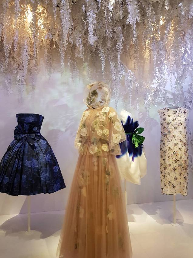 Robes exposition Christian Dior 5
