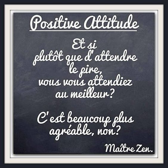 Les 10 commandements la positive attitude