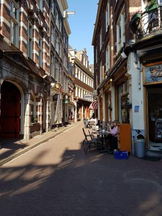 rue commerçante Amsterdam
