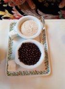 Guimauves et billes de chocolat