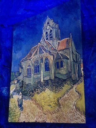 L'église à Auvers