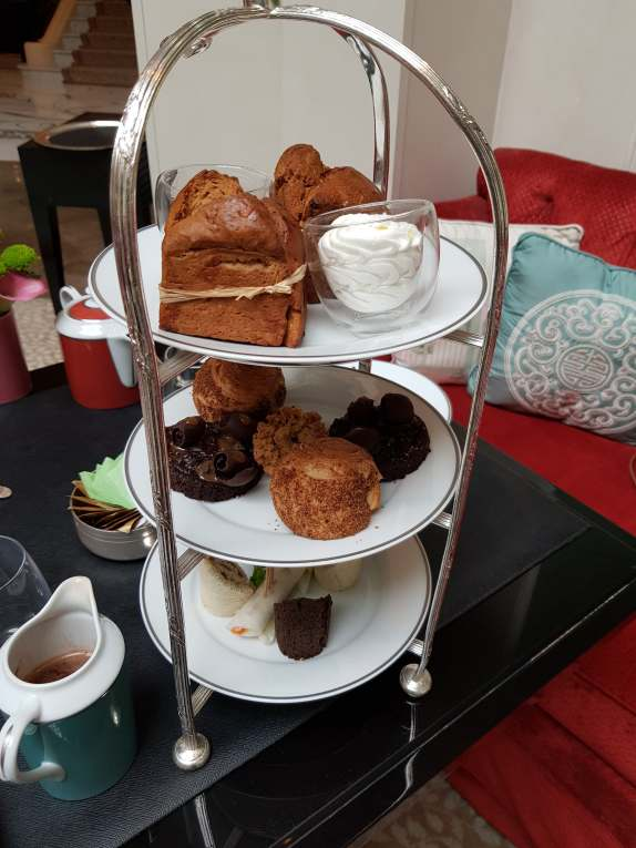 Plateau afternoon tea vegan