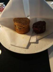Scone et cookie chocolat