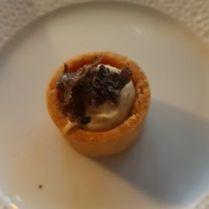 Tartelette houmous truffé